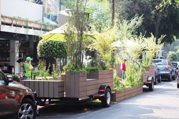 Proyecto de investigación Parklets . Courtesy: Das Arquitectura vía Facebook