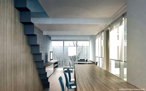 Mexicalli Apartments, Baja California TAV. http://www.tallerveinticuatro.com/