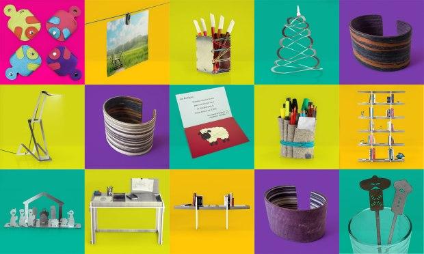 Mosaico de productos con los que arranca la nueva marca. Imagen cortesía de Made Singular