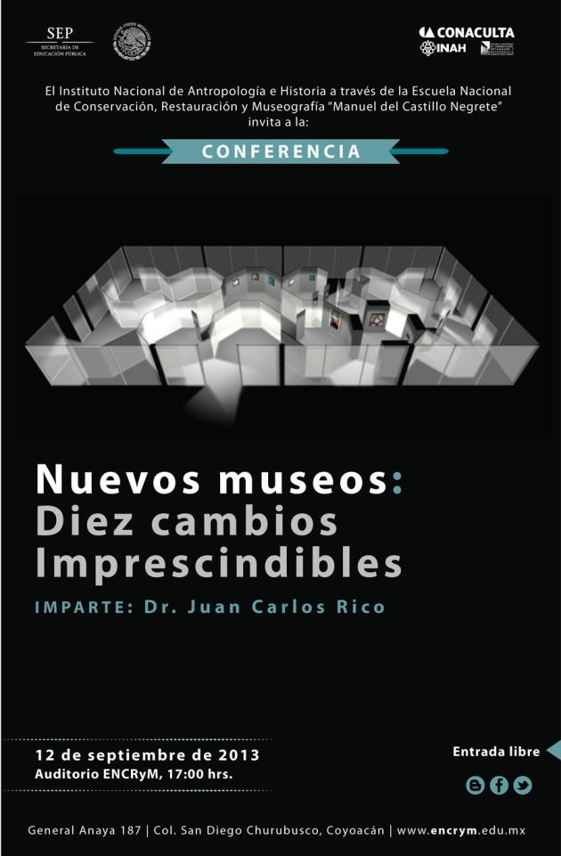 Flyer: Vía: encrym.edu.mx