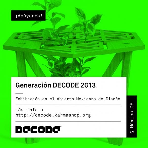 Generación DECODE 2013