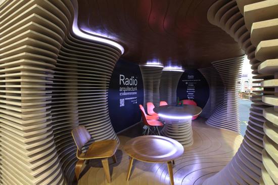 Pabellon Radio Arquitectura 2013