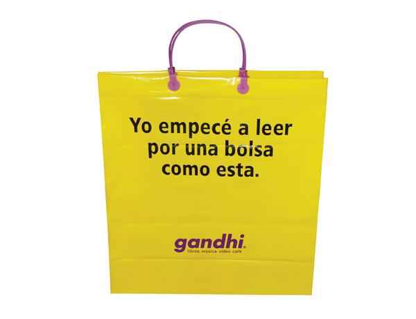 Bolsa de compra por Gandhi