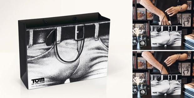 Tom of Finland shopping bag