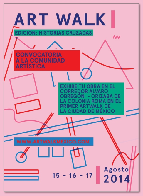 Convocatoria ARTWALK MX 2014